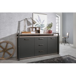 Buffet bas industriel Brooklyn 180 cm