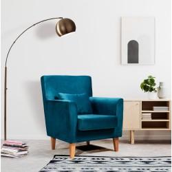 Fauteuil Lobby bleu