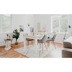 Table à manger extensible de 6 à 10 personnes Bergen
