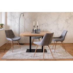 Table à manger extensible de 6 à 10 personnes Quadrato