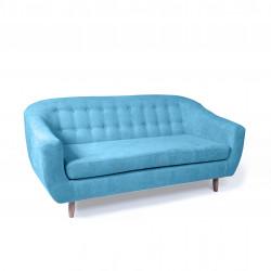 Canapé 3 places bleu RAE