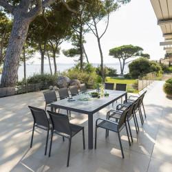 Table de jardin extensible Paradize Graphite 12 places (Exclusivité magasin)