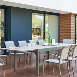 Table de jardin extensible Piazza Lin & Tonka 12 places (Exclusivité magasin)